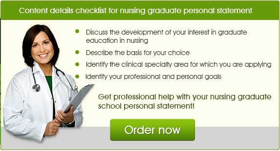 Personal Statement for Nursing School Unique the Best Personal Statement Examples Nursing Graduate School