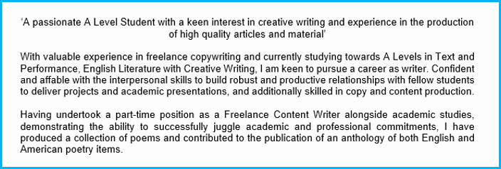 Personal Statement Sample for Job Beautiful 7 Cv Personal Statement Examples Writing Guide [land top