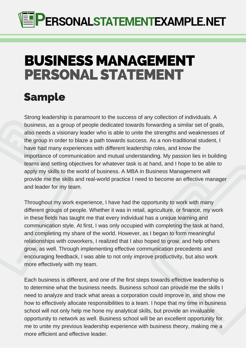 Personal Vision Statement Examples Business Beautiful Personal Vision Statement Examples for Managers
