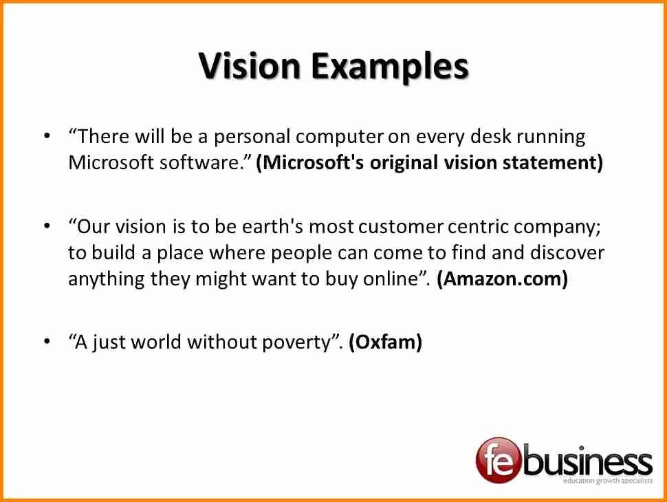 Personal Vision Statement Sample Beautiful 9 Examples Personal Vision Statements