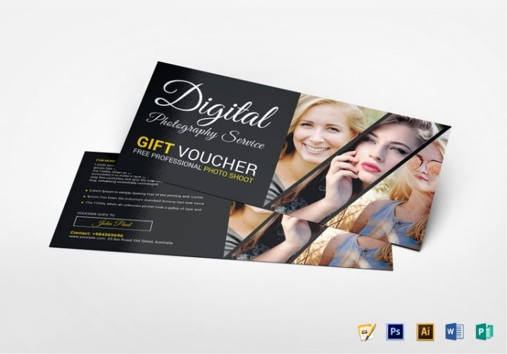 Photo Session Gift Certificate Template New Best Gift Certificate Templates