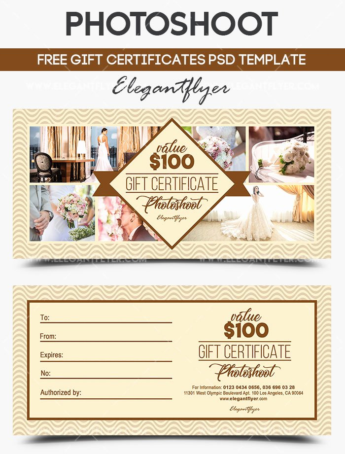 Photo Session Gift Certificate Template New Gift Certificates as A Way to attract New Customers 20