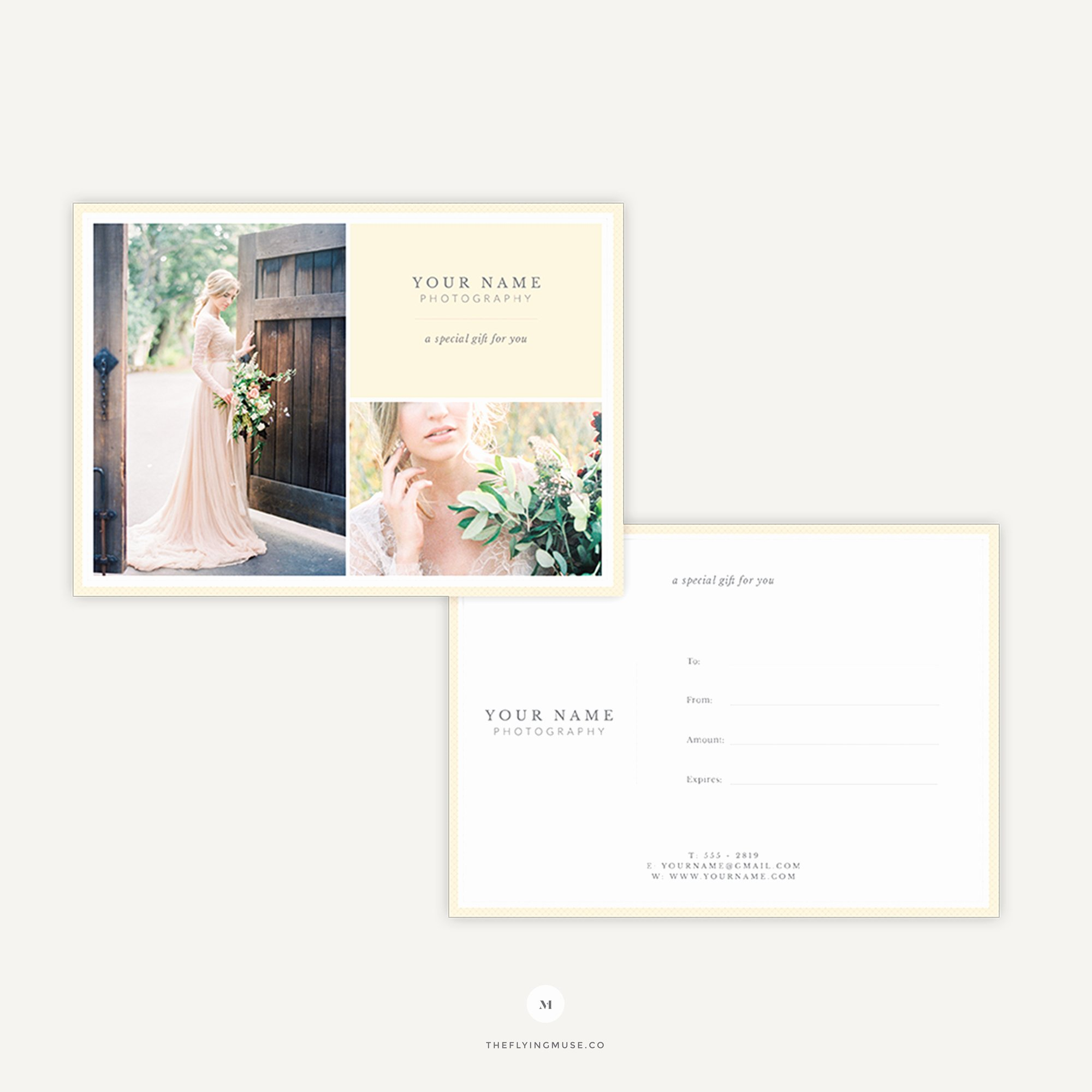 Photographer Gift Certificate Template Fresh Wedding Grapher Gift Certificate Template the