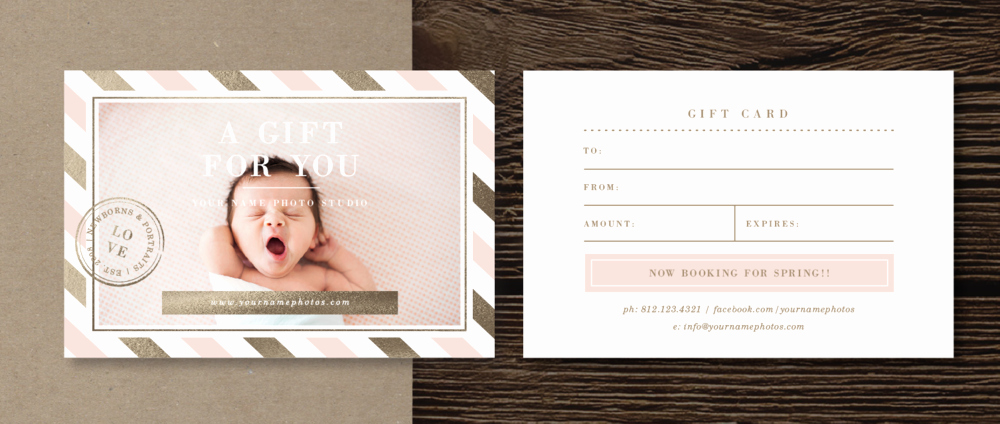 Photographer Gift Certificate Template New Print Release form Template Lily