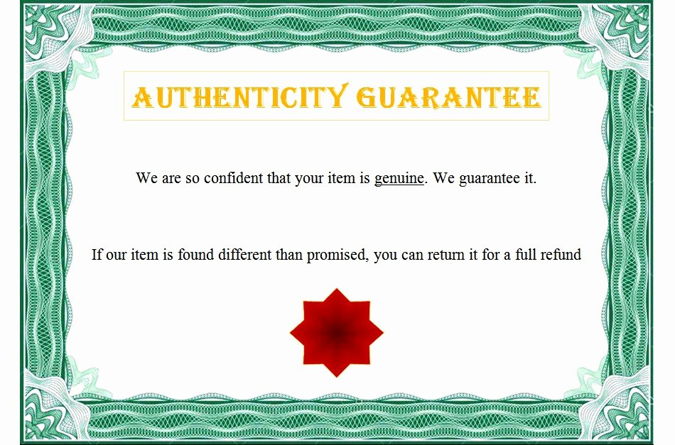 Photography Certificate Of Authenticity Template New Certificate Of Authenticity Templates Free [10 Limited