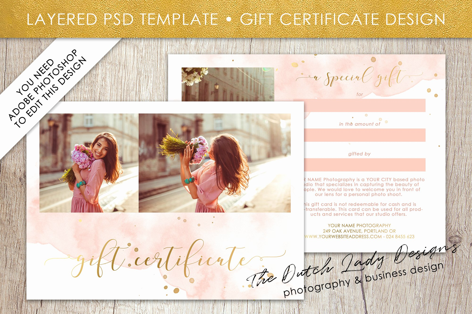 Photography Gift Certificate Template Free Beautiful Graphy Gift Certificate Template Gift Card