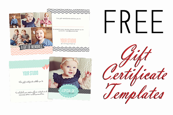 Photography Gift Certificate Template Free Best Of Free Gift Certificate Shop Templates From Birdesign