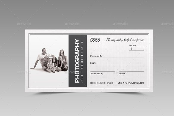 Photography Gift Certificate Template Free Download Awesome 12 Graphy Gift Certificate Templates – Free Sample