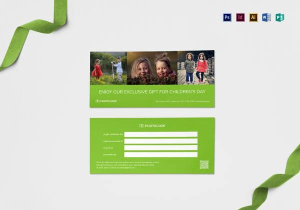 Photography Gift Certificate Template Free Download Awesome Graphy Gift Certificate Templates – 17 Free Word