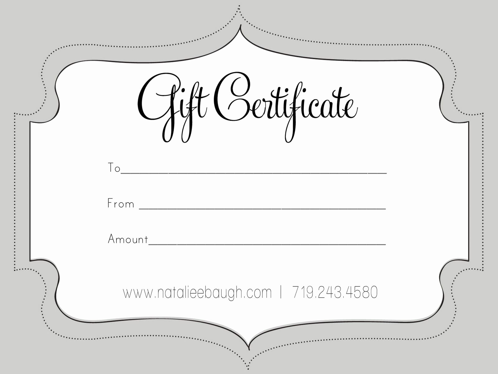 Photography Gift Certificate Template Free Download New A Cute Looking T Certificate S P A