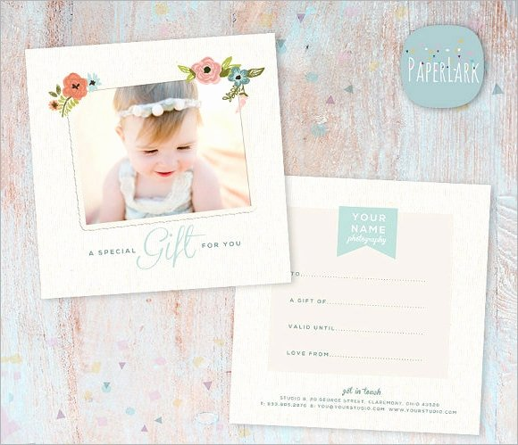 Photography Gift Certificate Template Free Download Unique 12 Sample attractive Graphy Gift Certificate