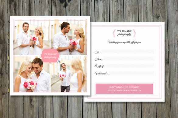 Photography Gift Certificate Template Free Elegant 12 Graphy Gift Certificate Templates – Free Sample