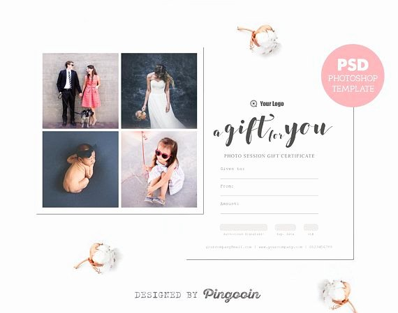 Photography Gift Certificate Template Free New Gift Voucher Template Gift Certificate Template