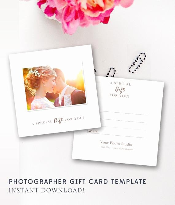 Photography Gift Certificate Template Fresh Graphy Gift Certificate Template Gift Card