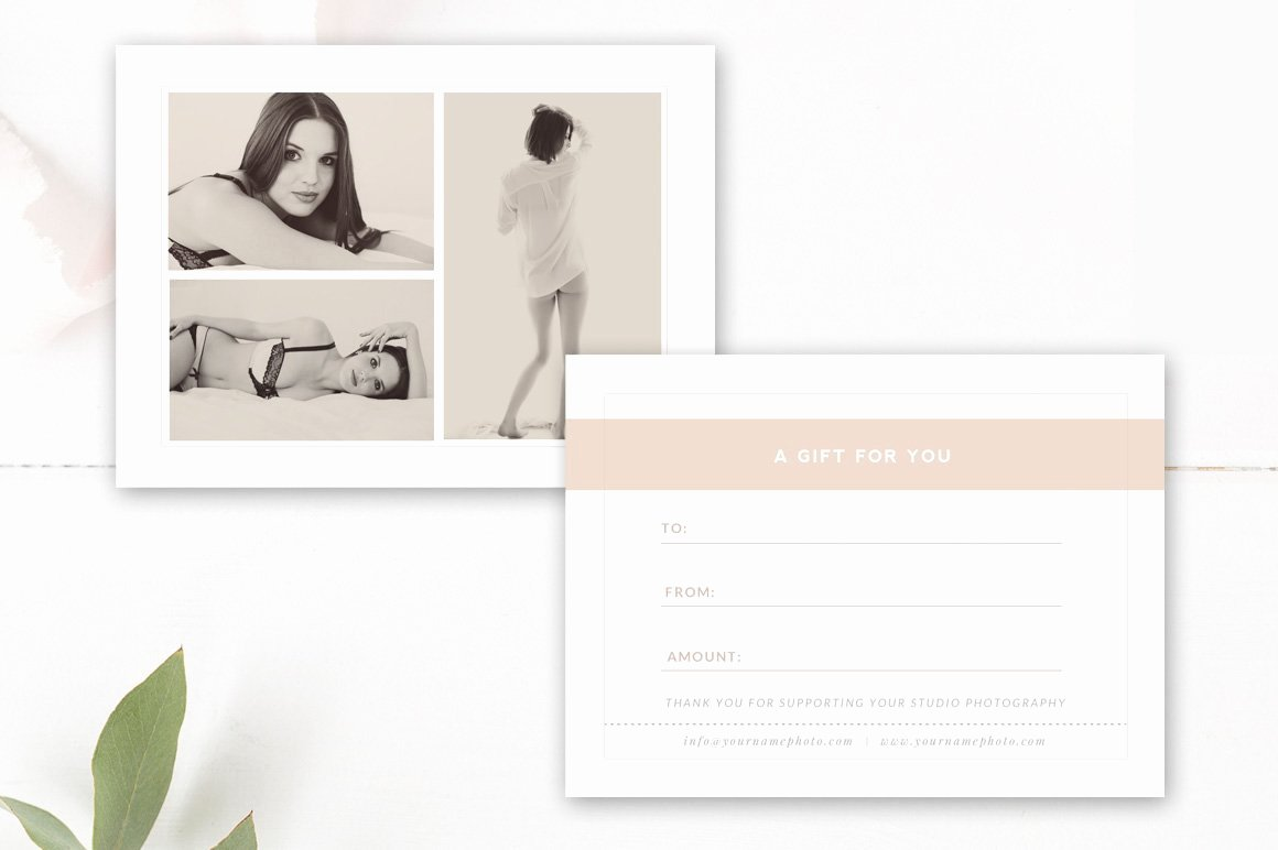 Photography Gift Certificate Template Luxury Graphy Gift Card Template Card Templates Creative