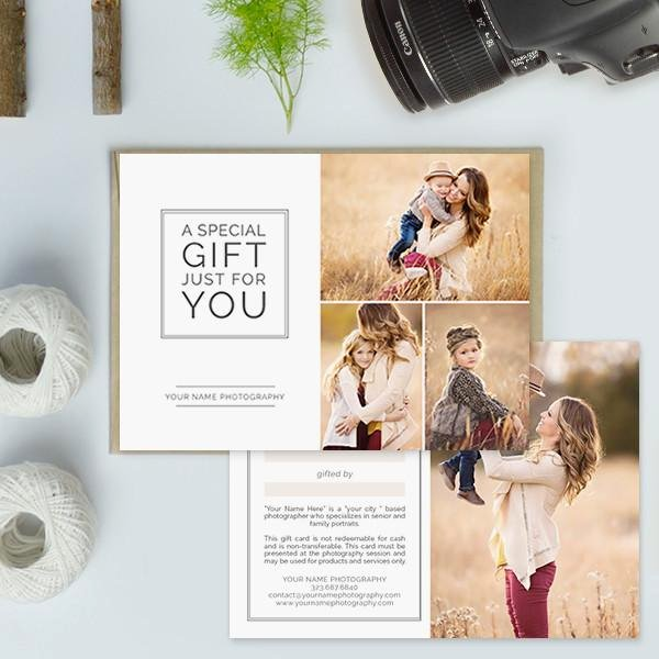 Photography Gift Certificate Template Luxury Graphy Studio Gift Certificate Templates