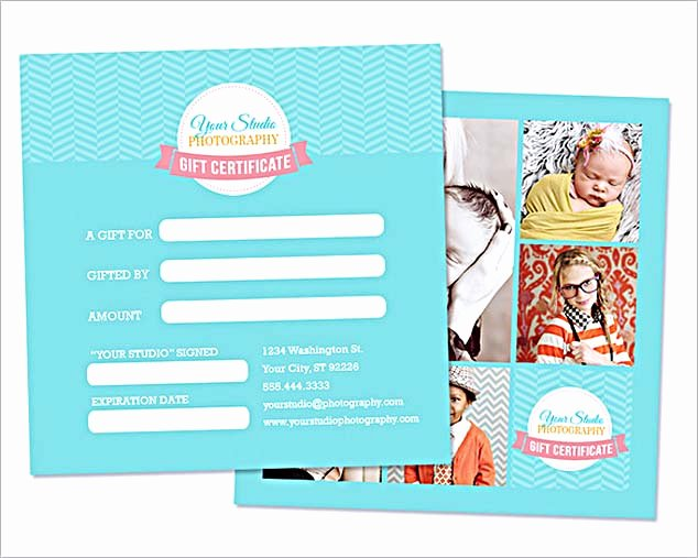 photography t certificate template