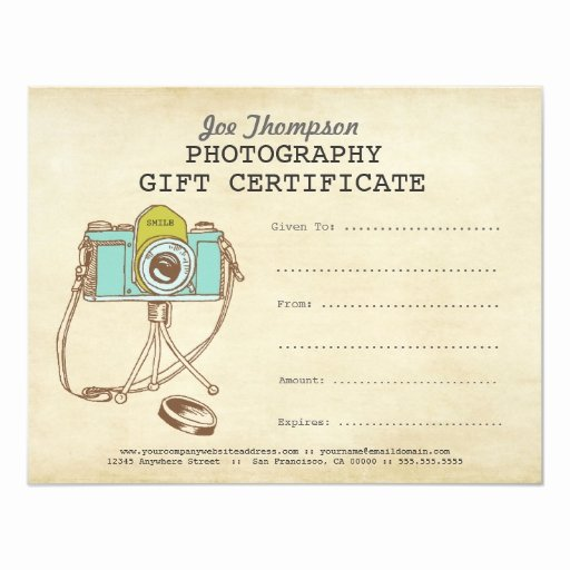 Photography Session Gift Certificate Template Unique Reiki Template