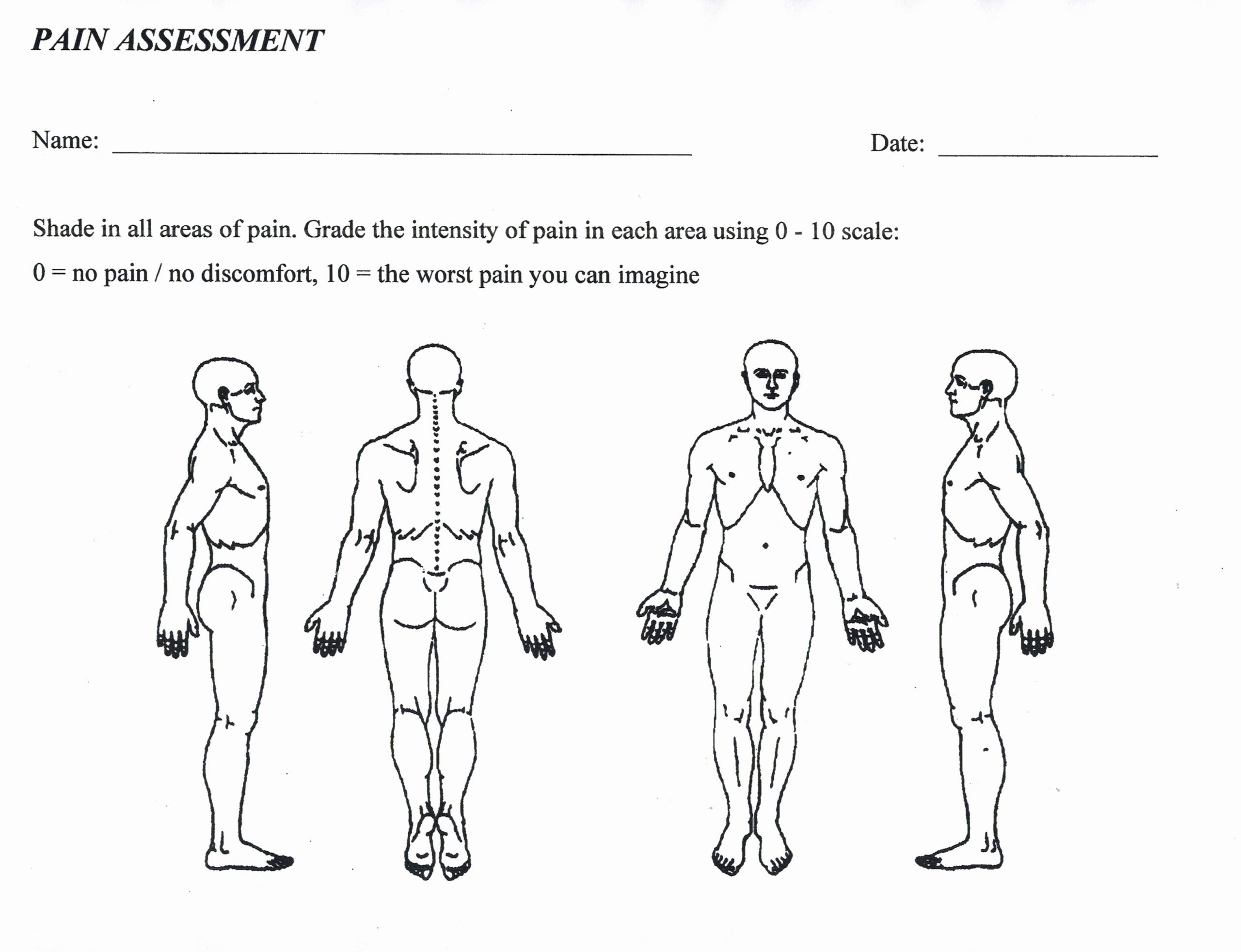 Physical therapy Intake form Template Best Of Patient forms