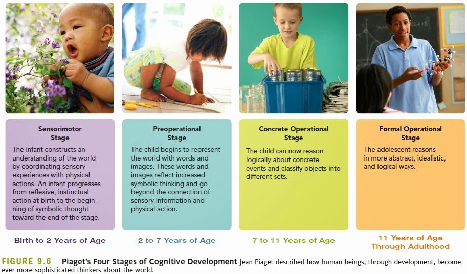 Piaget 4 Stages Of Cognitive Development Chart Lovely Facilitating Learning February 2014