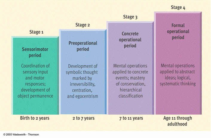 Piaget 4 Stages Of Cognitive Development Chart Unique How Pia Influenced My Philosophy