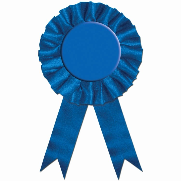 Picture Of Award Ribbon Awesome Blue Rosette Award Ribbon Partycheap