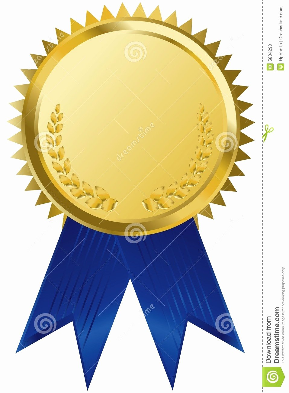 Picture Of Award Ribbon Beautiful Gold Award Ribbons Stock Vector Illustration Of event