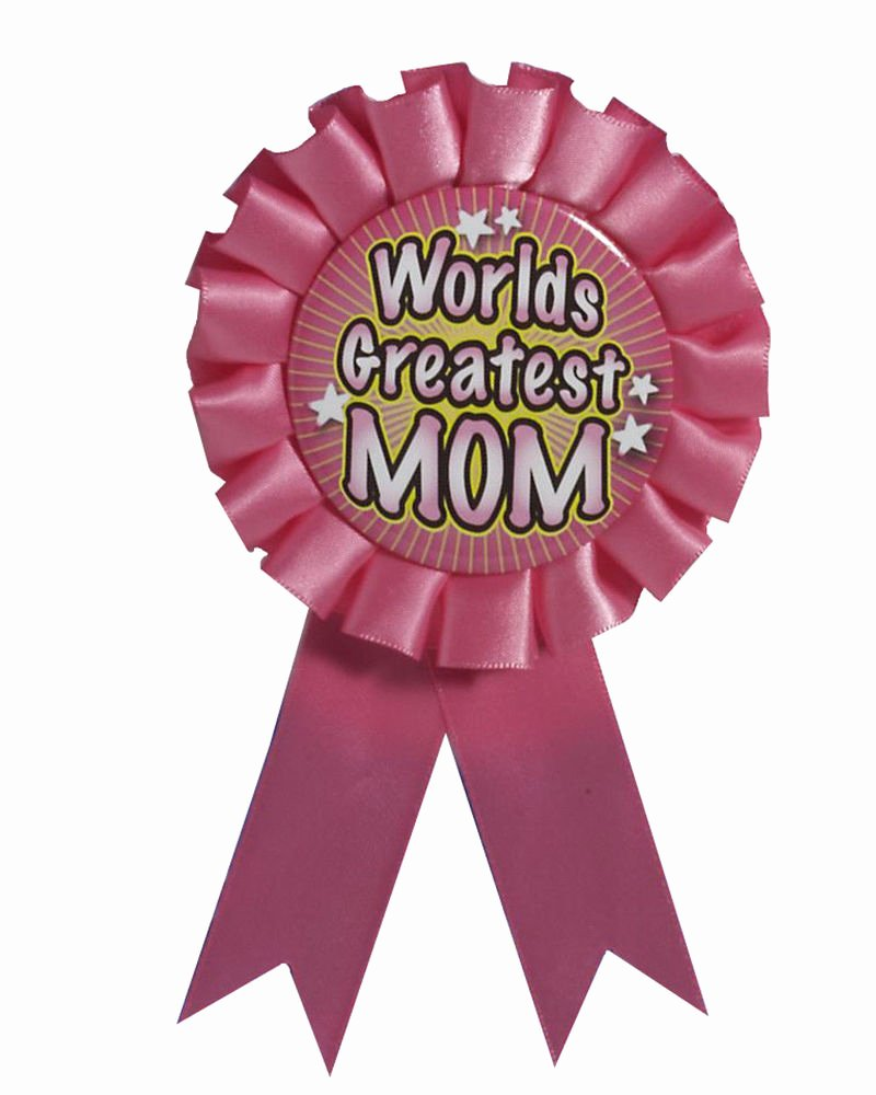Picture Of Award Ribbon Inspirational World S Greatest Mom Award Ribbon Rosette button Pin Back