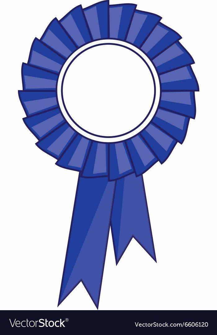 Picture Of Award Ribbon Lovely Blue Award Ribbon Royalty Free Vector Image Vectorstock