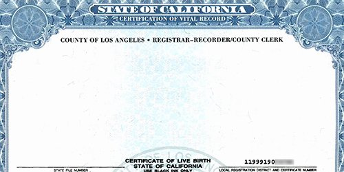 Pictures Of Blank Birth Certificates Awesome California Considers Gender Neutral Birth Certificate
