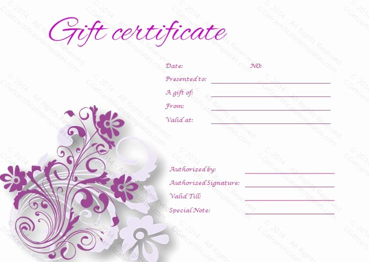 Pilates Gift Certificate Template Beautiful 17 Best Images About Templates On Pinterest