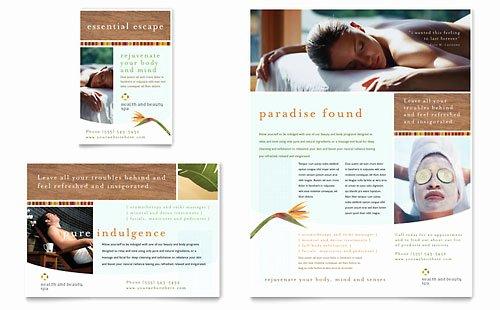 Pilates Gift Certificate Template Elegant Health & Beauty Spa Gift Certificate Template Design
