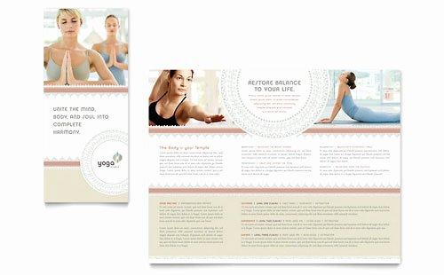 Pilates Gift Certificate Template Elegant Pilates & Yoga Gift Certificate Template Design