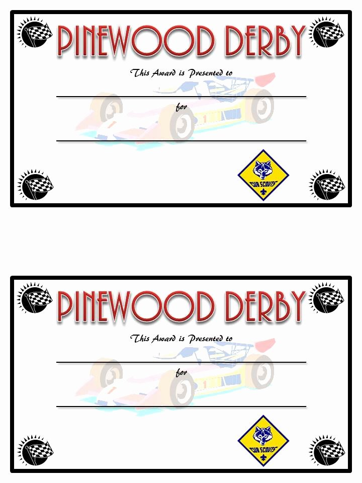 Pinewood Derby Award Certificate Template Beautiful Diy Pinewood Derby Trophies and Certificates Sugar Bee