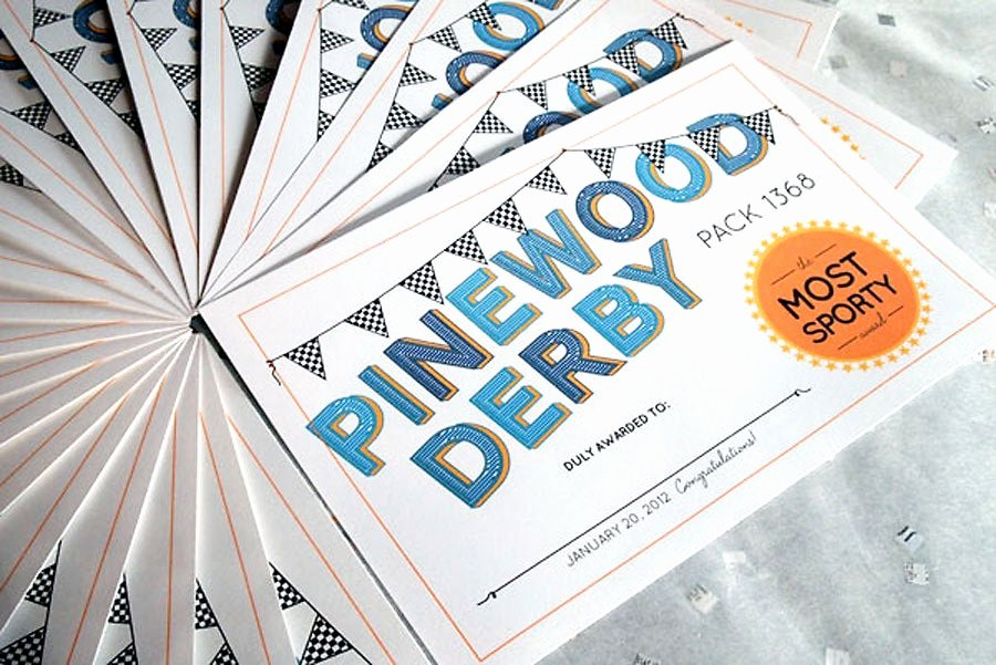 Pinewood Derby Award Certificate Template Elegant Chandeliers & Pendant Lights