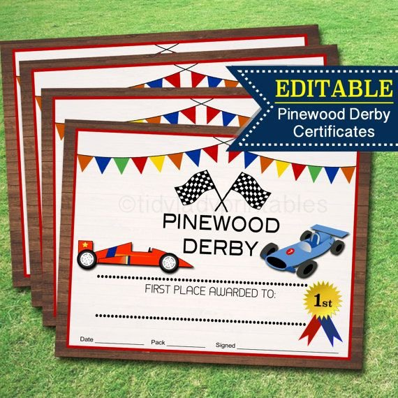 Pinewood Derby Award Certificate Template Inspirational Best 25 Award Certificates Ideas On Pinterest