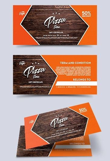 Pizza Gift Certificate Template Fresh Helicopter Rides Free Gift Certificate – by Elegantflyer
