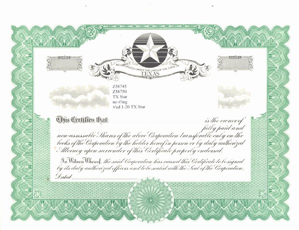 Plank Owner Certificate Template Best Of Special Text and Blank Certificates for Stock Ownership