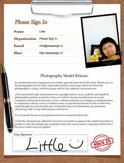 Please Sign In Sheet Best Of Please Sign In the Ipad Sign In Sheet