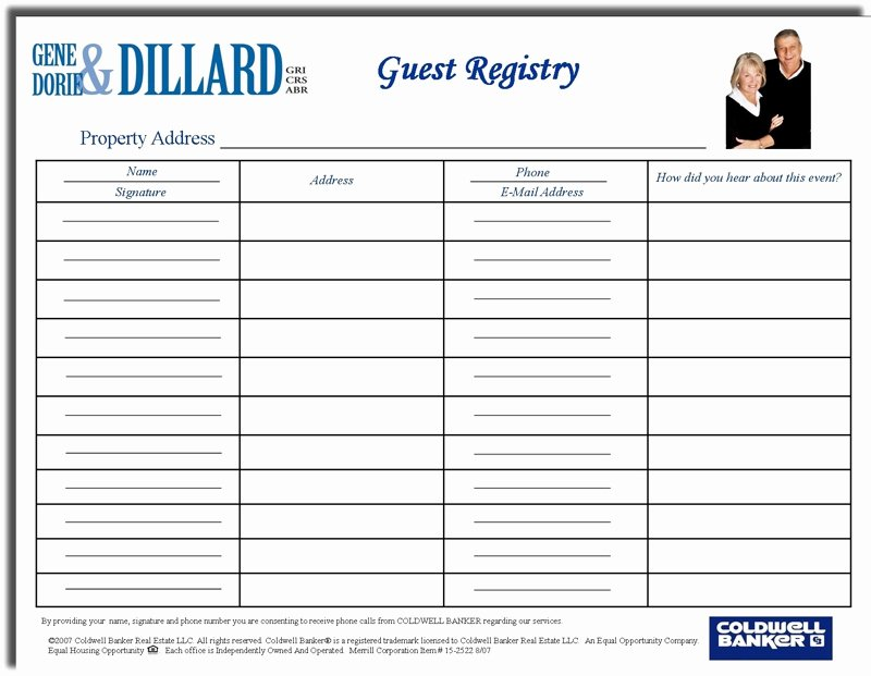 Please Sign In Sheet New are You Getting Buyer S Contact Information at Open Houses