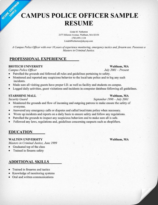 Police Chief Resume Best Of Cover Letter Example Police Captain Cover Letter Example