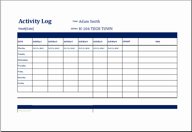Police Daily Activity Log Template Elegant Index Of Cdn 3 2005 51