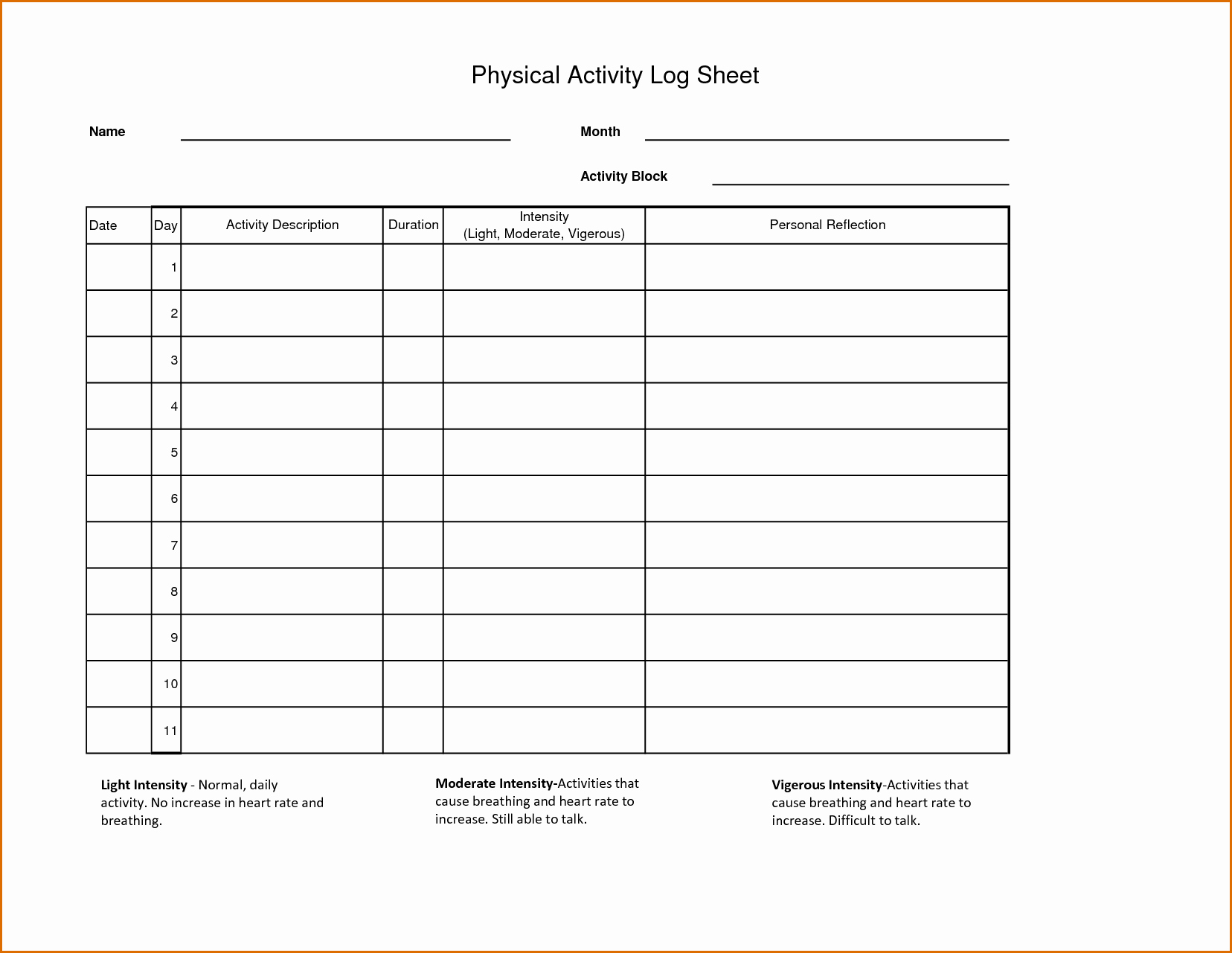 Police Daily Activity Log Template Luxury 8 Daily Activity Log Template