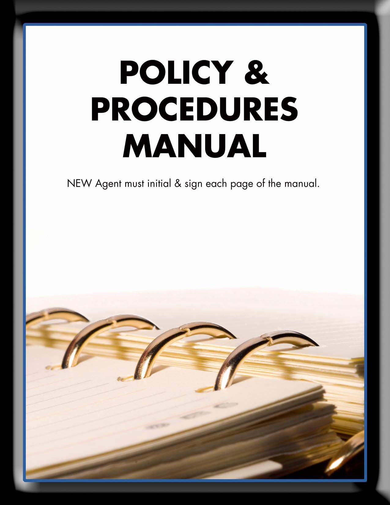 Policy Manual Sample Fresh February 2013