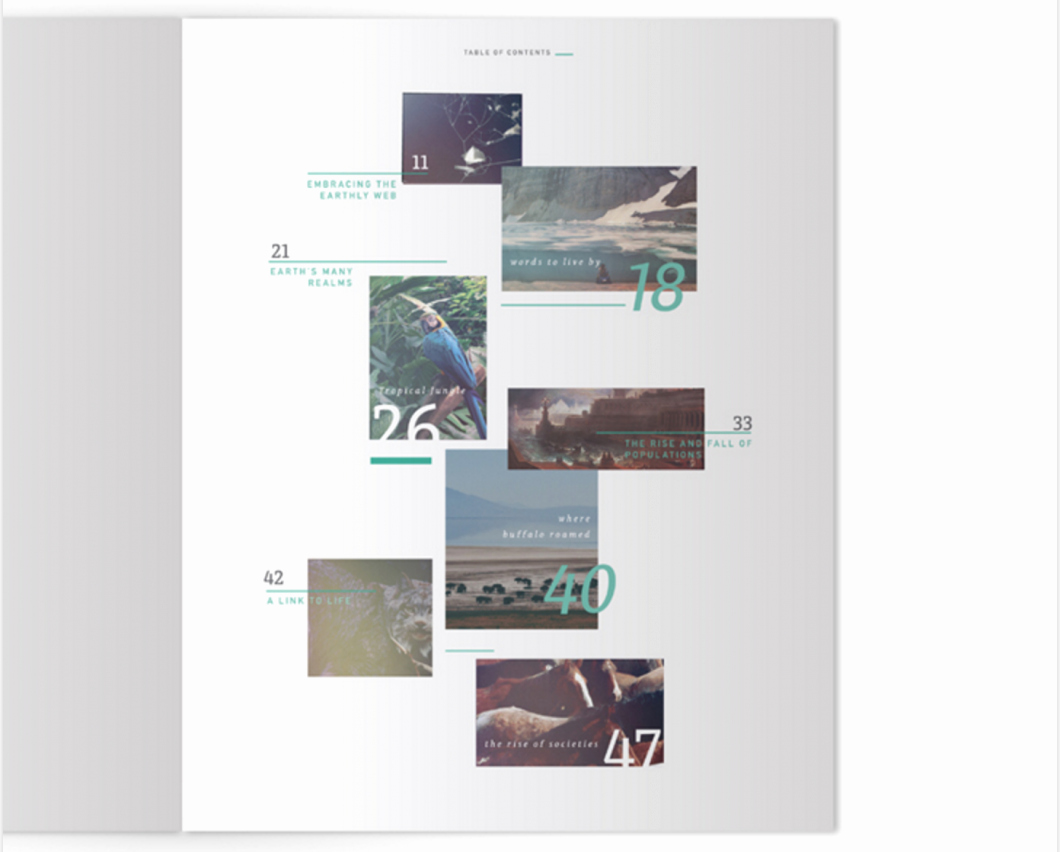 Portfolio Table Of Contents Template Fresh Designing the Perfect Table Of Contents 50 Examples to