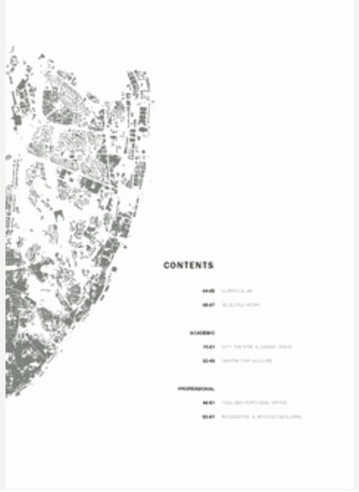 Portfolio Table Of Contents Template Fresh Pin by Lauren Lees On Architecture