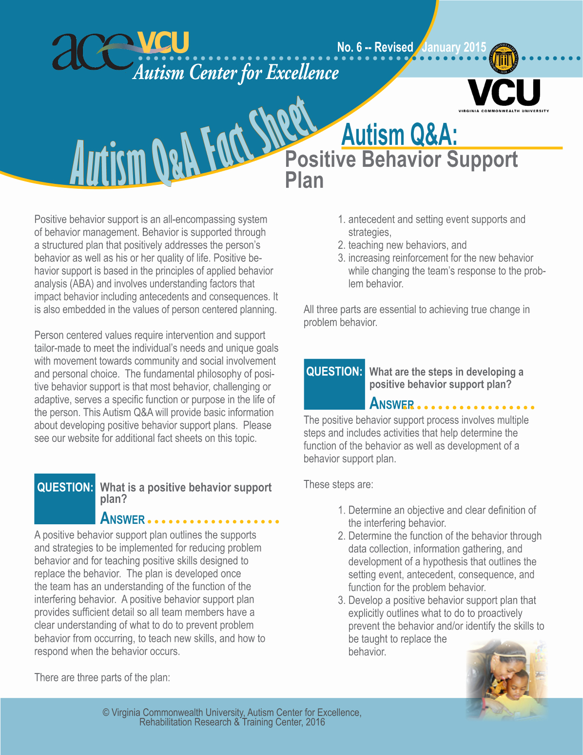 Positive Behavior Support Plan Example Beautiful Content Vcu Autism Center for Excellence