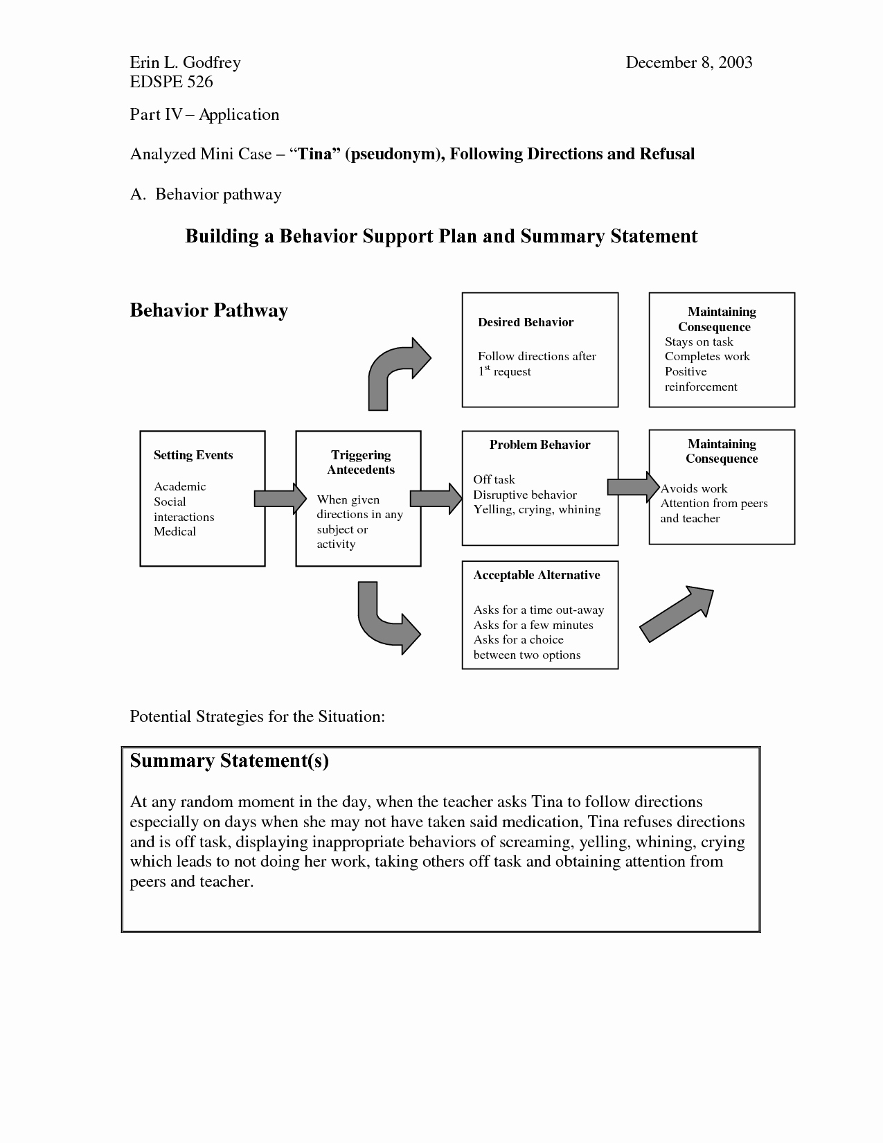 Positive Behavior Support Plan Example New Positive Behavior Support Plan