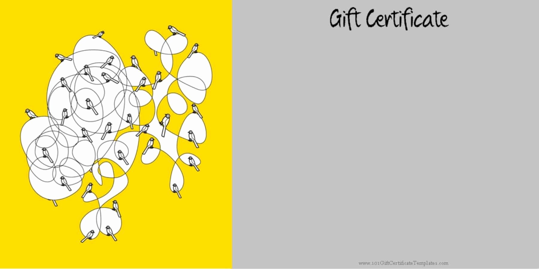 Powerpoint Gift Certificate Template Best Of Printable Gift Certificate Templates