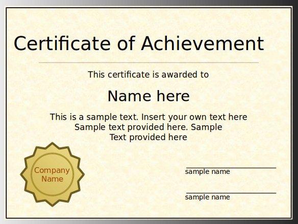 Powerpoint Gift Certificate Template Elegant 7 Powerpoint Certificate Templates Ppt Pptx